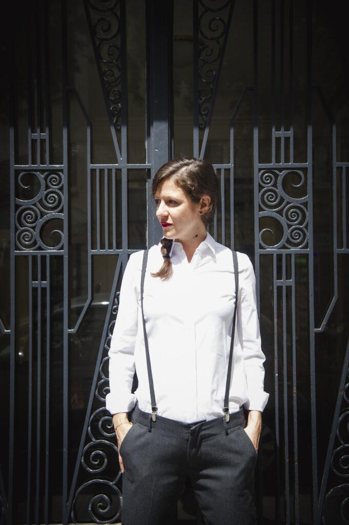 Marine Galland, comédienne à Paris